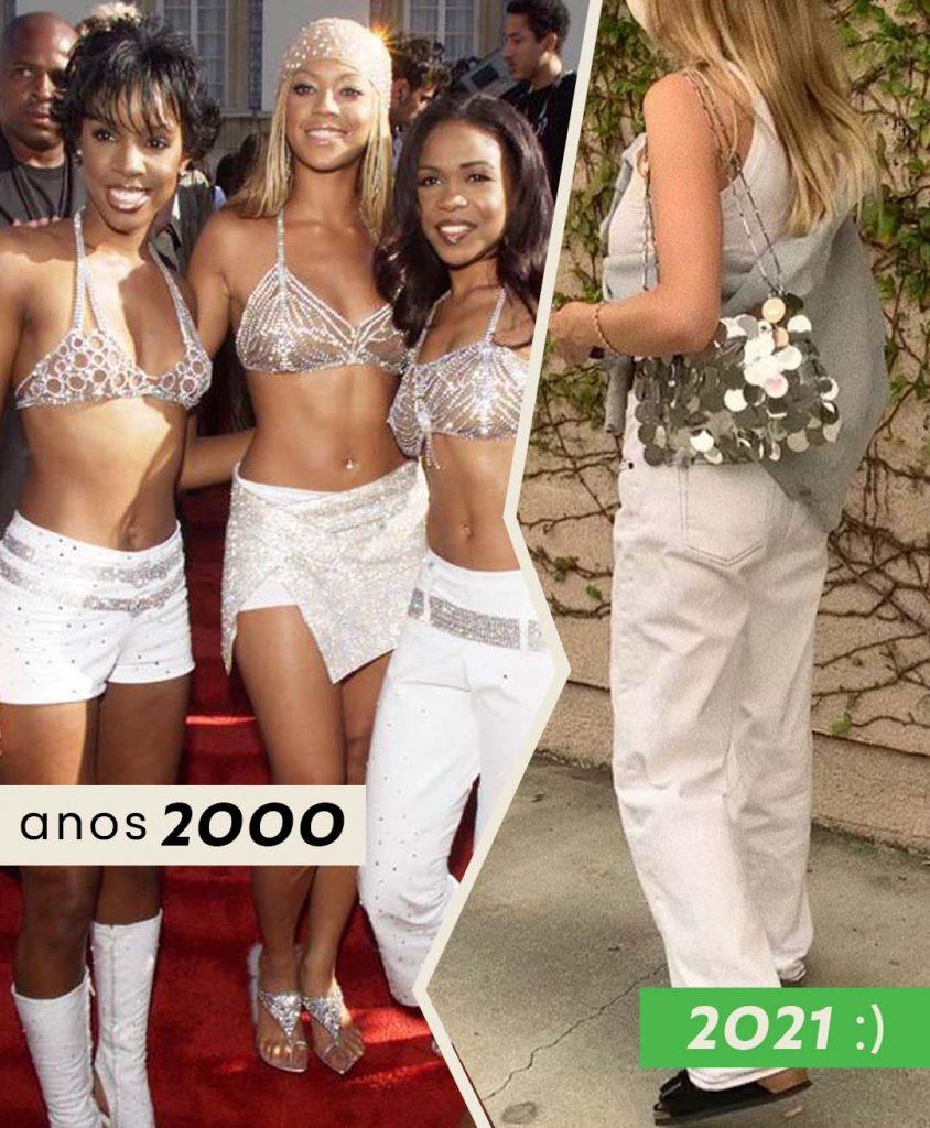 Foto anos 2000 Paete e Brilhos com Madeline Harper Fass. 2021 com Madeline Harper Fass