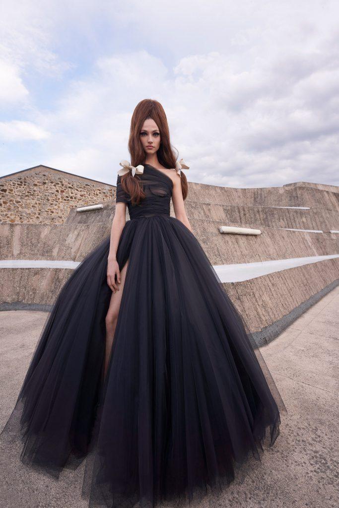 Foto maiores tendencias da semana de moda de alta costura volume por giambattista valli