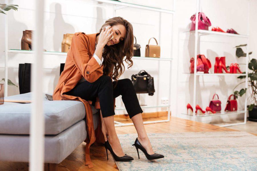 sapatos femininos para trabalhar como escolher